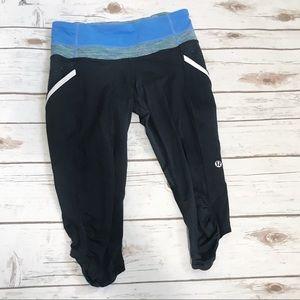 Lululemon cropped yoga pants!
